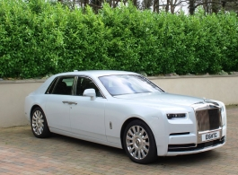 Rolls Royce Phantom for weddings in Chelsea