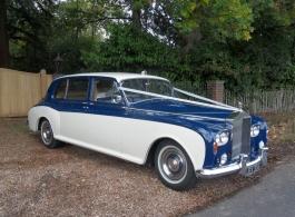 Rolls Royce wedding car in Portsmouth