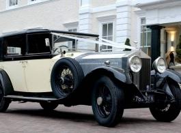 Vintage Rolls Royce for weddings in Richmond