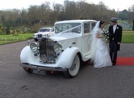 Rolls Royce Phantom for weddings in Basingstoke