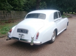 Rolls Royce Silver Cloud for weddings in Richmond