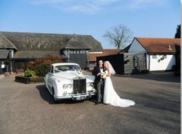 1960s Rolls Royce Silver Cloud wedding car in Southend on sea
