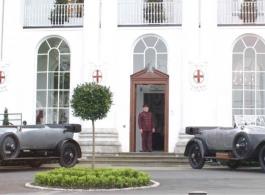 Rolls Royce Silver Ghost for weddings in Gillingham