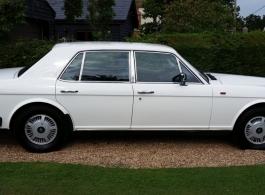 Classic Rolls Royce wedding car in Winchelsea