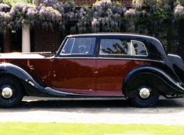 1940s Rolls Royce Silver Wraith for weddings in Chatham
