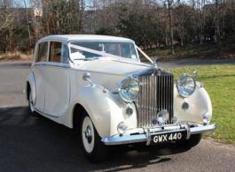 Rolls Royce Silver Wraith wedding car in Wimbledon
