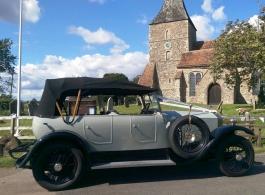 Vintage Rolls Royce wedding car hire in Hastings