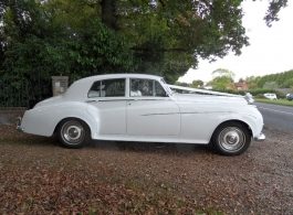 Classic Rolls Royce for weddings in Fareham