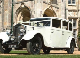 Vintage Rolls Royce wedding car hire In Winchester