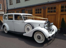 Vintage Rolls Royce for weddings in London