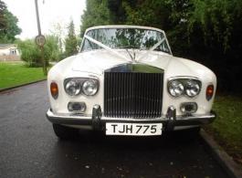 1975 Rolls Royce wedding car in Horsham