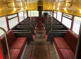 Red London Bus for wedding hire in Aldershot
