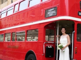Red Routemaster Bus for hire in Berkshire