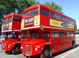 London Routemaster Wedding Bus Hire in Tonbridge