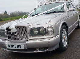 Bentley Arnage for weddings in Worcester