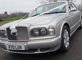 Bentley Arnage for weddings in Worcester