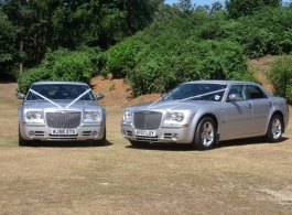 Matching Chryslers for weddings in Farnham