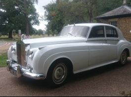 1959 Rolls Royce for weddings in Chelsea