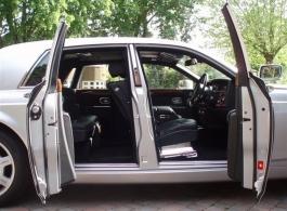 Rolls Royce Phantom wedding car hire in Middlesex