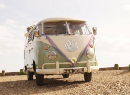 Classic VW Campervan hire in Portsmouth