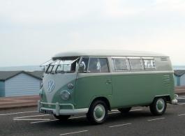VW Splitscreen Campervan for wedding hire in Southampton