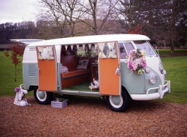 Classic 1965 Campervan for weddings in Chichester