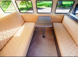 Classic VW Campervan for weddings in Horley