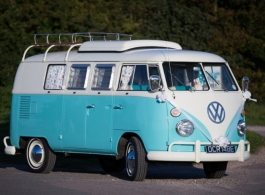 Splitscreen Campervan for weddings in Southsea