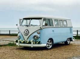 Splitscreen VW Campervan for weddings in Maidstone