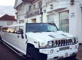 Hummer Limousine for wedding hire in Basingstoke
