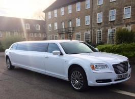 Chrysler 300 Limousine hire in Reading