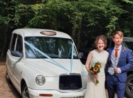 Wedding Taxi for hire in Maidstone
