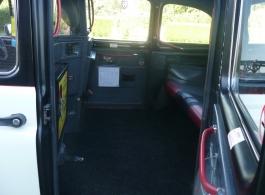 Black TX4 Taxi for weddings in Basildon