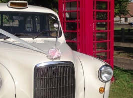 White London Taxi for Weddings in Lewes