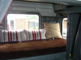 Wedding Truck Surrey interior seating
