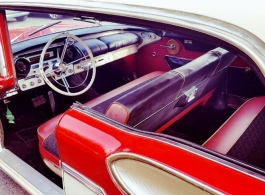 Classic Ford Mercury for weddings in Windsor