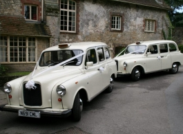 White Taxi wedding car hire in Windsor