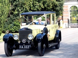 1920s Rolls Royce for weddings in Bishops Stortford