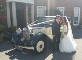 Vintage Rolls Royce for weddings in London