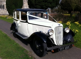 1935 Vintage car for weddings in Henley On Thames