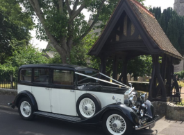 Vintage Rolls Royce for weddings in Porsmouth