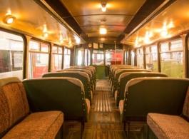 Vintage wedding bus hire in Barnstaple