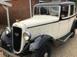 Vintage Austin for weddings in Slough