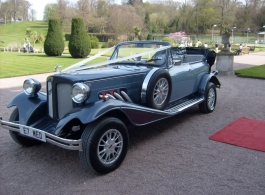 Beauford Convertible Wedding Car in Hemel Hempstead