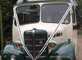 1946 Vintage wedding bus hire in Basingstoke