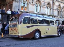 Vintage Bus for weddings in Basingstoke
