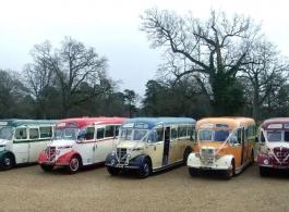 1950 vintage wedding bus hire in Bracknell