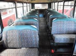 Vintage Bristol bus for weddings in Glastonbury