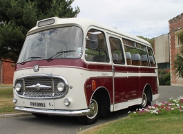 Vintage wedding bus for hire in Brighton