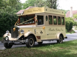Vintage Wedding Bus hire in Southsea